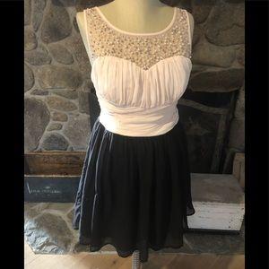 As U Wish Junior's Mini Dress Size 9 NWT